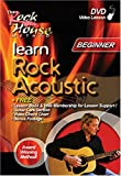 echange, troc Learn Rock Acoustic: Beginner [Import anglais]