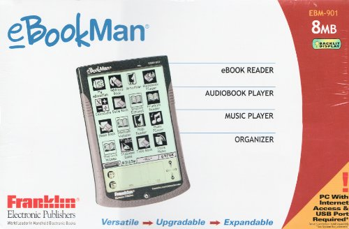 Franklin EBM-901 eBookman (Metallic Black)