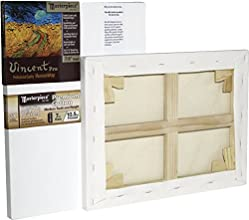 Masterpiece Vincent MasterWrap Pro MuseumWrap Wood Drum Tight Stretched Canvas 16 X 20 in