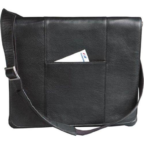Winn-International-Womens-Leather-Slim-Messenger-Bag-Handbag