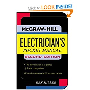 Electrician's Pocket Manual (Pocket References (McGraw-Hill)) Rex Miller