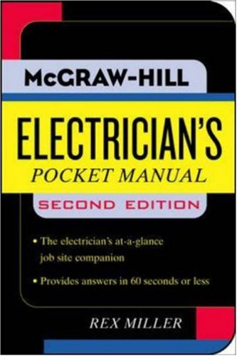 Electrician's Pocket Manual - McGraw-Hill Professional - MG-0071458875 - ISBN: 0071458875 - ISBN-13: 9780071458870