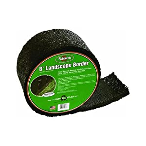 International Mulch BORDERET Rubberific Border Lawn Edging