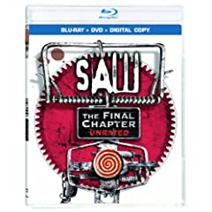 Saw: The Final Chapter (Two-Disc Blu-ray/DVD Combo + Digital Copy) (Formerly Saw 3D): Tobin Bell, Cary Elwes, Kevin Greutert