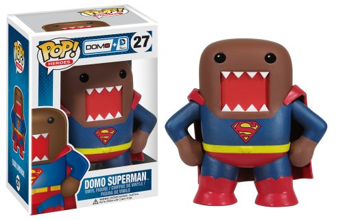 Funko Pop Heroes Domo Superman Vinyl Action Figure - 1