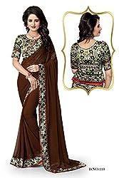 Atmiya ethnic wear chiffon saree