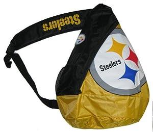 Pittsburgh Steelers NFL Football Core Sling Bag Backpack Back Pack from SteelerMania