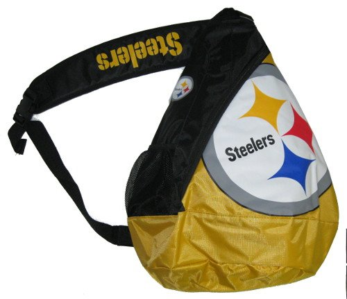 Pittsburgh Steelers NFL Football Core Sling Bag Backpack Back Pack from SteelerMania