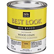 - W44N00804-44 Best Look Interior Wood Stain-PECAN INT WOOD STAIN