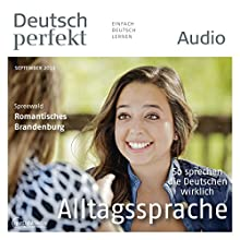 Deutsch perfekt Audio - Alltagssprache. 9/2013 Audiobook by  div. Narrated by  div.