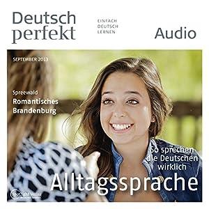 Deutsch perfekt Audio - Alltagssprache. 9/2013 Audiobook