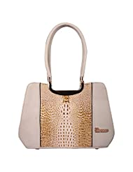 ELEEGANCE Women's Handbags (Off White) (LR04)