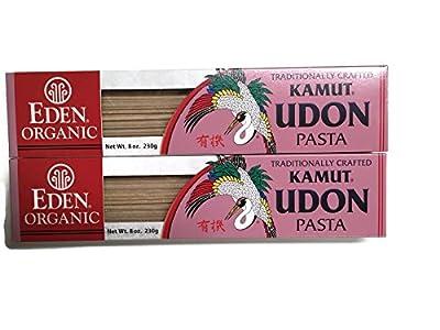 Eden Foods Organic Kamut Udon Pasta, 8 Oz. (Set of 2) from Eden Foods