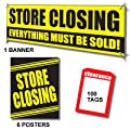Store Closing - 107pc Sales Driver Sign Kit