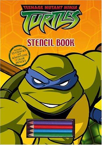 Teenage Mutant Ninja Turtles Stencil Book