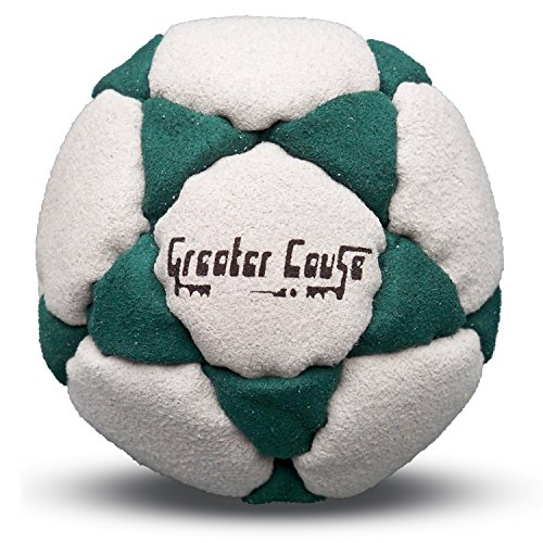 32 Panel Sand Filled Hacky Sack Footbag - 1