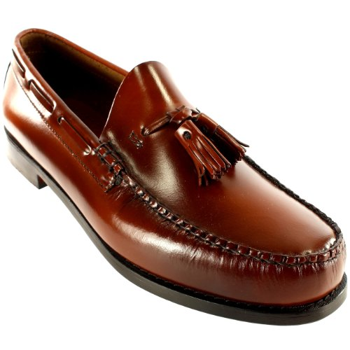 8edfd2a46ec Mens G.H. Bass Larkin Slip On Tassel Smart Penny Loafer Leather Shoe ...