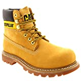 Womens Caterpillar Colorado CAT Lace Up Leather Walking Wheat Desert Boot