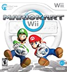 Mario Kart Wii with Wii Wheel