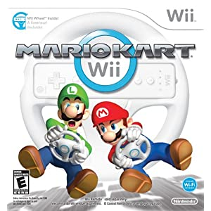 51PYW1FCetL. SL500 AA300  Mario Kart Wii with Wii Wheel w/ $10 Game Credit   $40 + free S&H