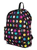 Roxy Backpack Rucksack School Bag - Sugar Baby True Black Spots