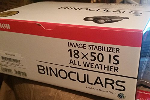Canon 15X50 All Weather Image Stabilizer Binoculars
