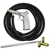 "8 PC AIR SANDBLASTER GUN KIT Gun Tubes Pick Up Sand Blaster 1/4"" Air Nozzles"