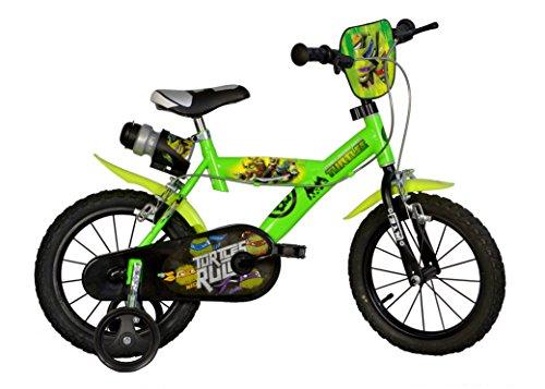 Dino Bikes 163 G-NT - Ninja Turtles Bicicletta, 16 Pollici