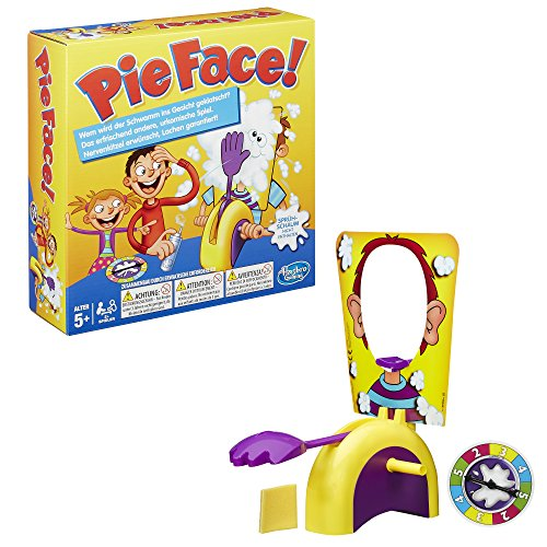 Hasbro Jeux b7063100 - Pie Face, Party Jeu