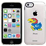 University of Kansas Mascot design on a Clear iPhone 5c Gemshell Case by Speck at Amazon.com