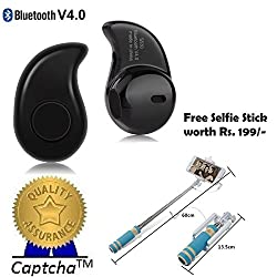 Intex Aqua Speed Compatible Ceritfied S530 1pcs In-Ear V4.0 Stealth Earphone Phone Headset Handfree (Assorted Color) with FREE GIFT