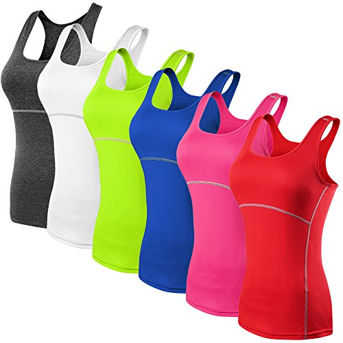 Neleus-Womens-3-Pack-Dry-Fit-Compression-Long-Tank-Top