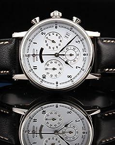 Zeppelin Watches Women's Quartz Watch 7577-1 7577-1 with Leather Strap