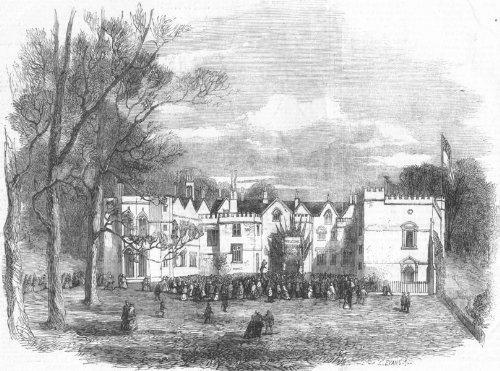 Bristol: Ashton Court. Greville Upton Smyth Drinking His Tenantry'S Health, 1857