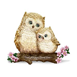 Owl Figurine: Owl Always Love You by The Hamilton Collection