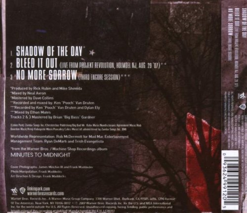Album Shadow of The Day Shadow of The Day Amazon.de