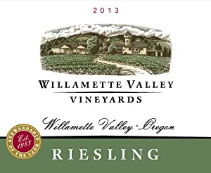 2013 Willamette Valley Vineyards Riesling
