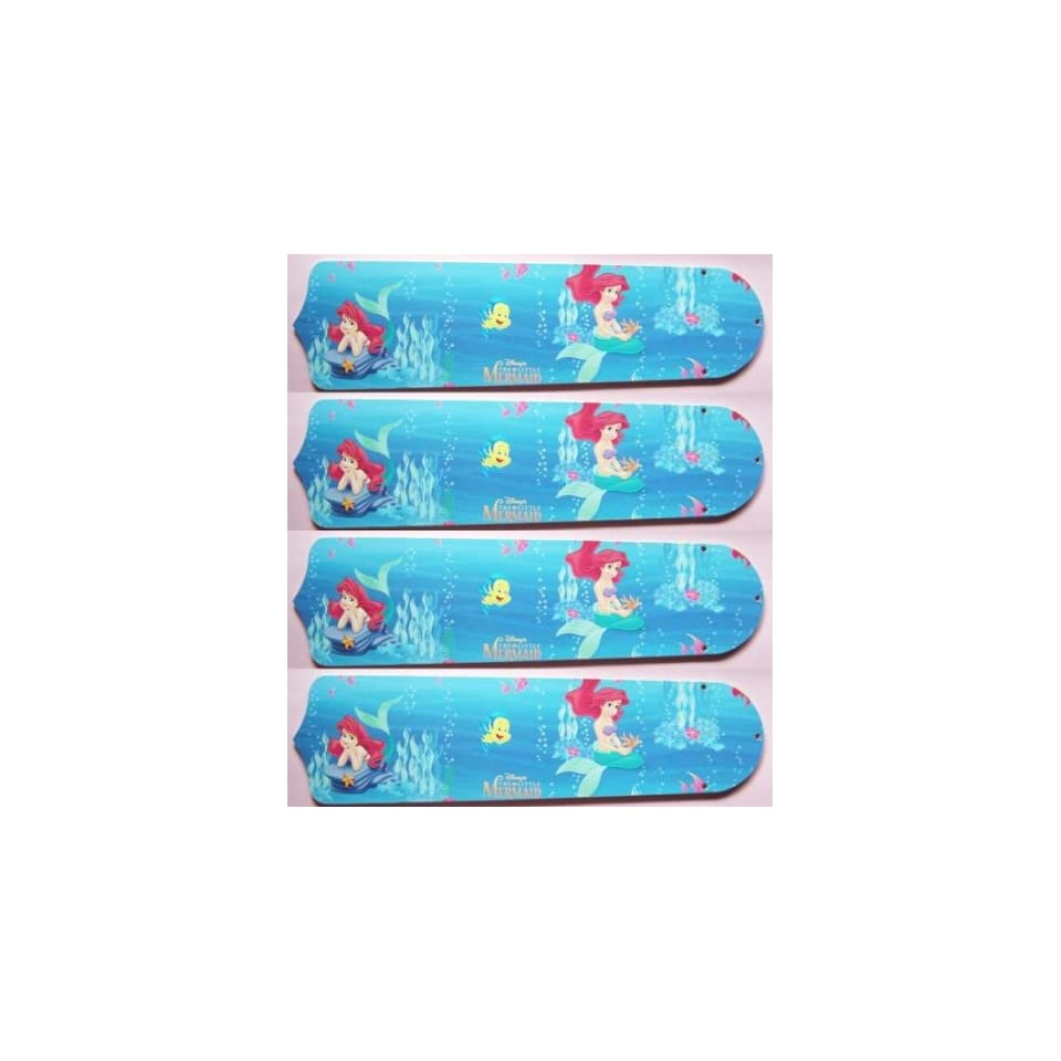 NEW Crafted Disney Princess Ariel Little Mermaid 42 Hugger Ceiling ...