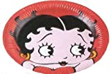Betty Boop Party Lunch Plates 8ct 9
