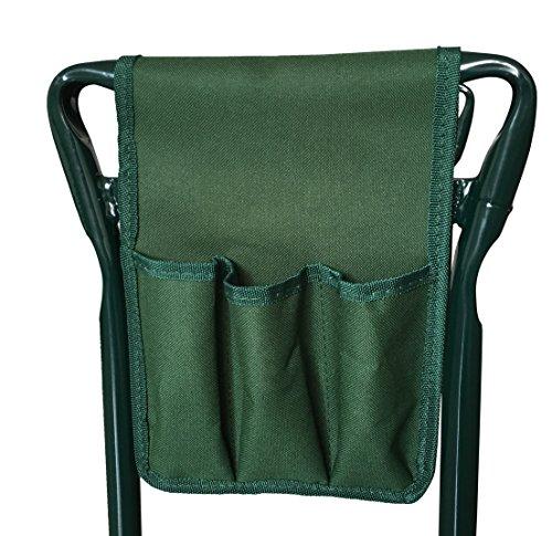 Suesport Folding Folding Garden Bench Seat Stool Kneeler