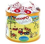 Aladine 3085127 - Stampo Minos Baustelle, 11-teilig hergestellt von Aladine