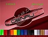 GMC DENALI LOGO Door Handle Decal Decals Camaro Corvette Monte Carlo s10 Blazer racing Sticker Stickers