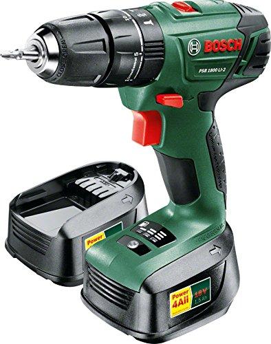 Bosch PSB 1800 LI-2 Cordless Hammer Drill Driver