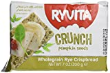 Ryvita B36040 Ryvita Pumpkin Seeds And Oats Crispbread -10x7 Oz