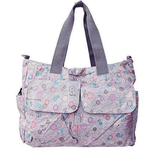 bebamour original floral designer diaper tote bags sun flower baby toddler baby transport. Black Bedroom Furniture Sets. Home Design Ideas