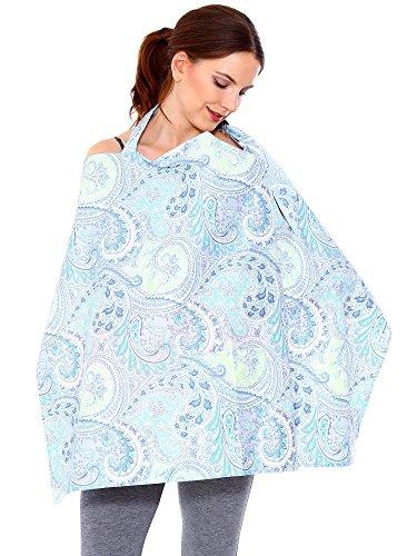 Simplicity Breastfeeding Baby Nursing Cover, Blue