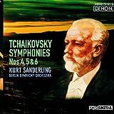 チャイコフスキー:交響曲第4番・第5番・第6番<悲愴>