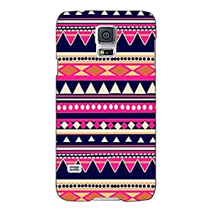 Jugaaduu Aztec Girly Tribal Back Cover Case For Samsung Galaxy S5