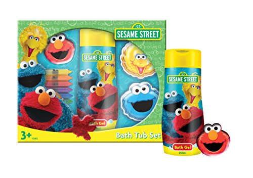 sesame-street-set-unisex-bade-duschgel-250-ml-2x-schaumbad-je-60-ml-4x-bad-buntstifte-elmo-waschtuch