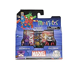 Marvel Minimates Greatest Hits Wave 2 Hawkeye & Ant-Man 2 Pack
